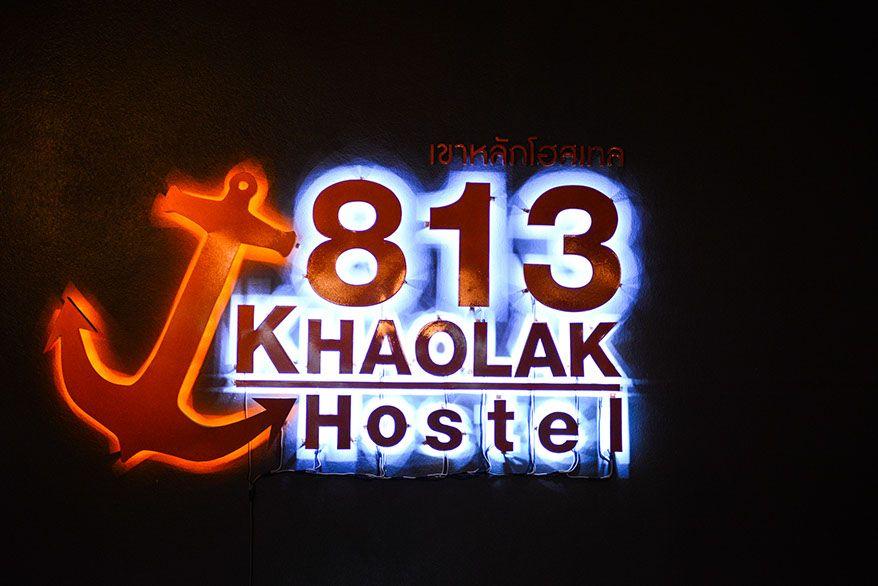 813 Khao Lak hostel logo