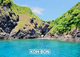 Koh Bon island, link image