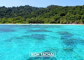 Koh Tachai island, link image