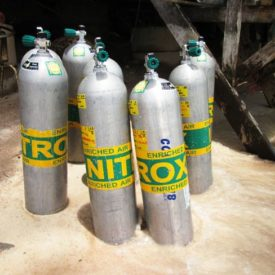 Enriched Nitrox tanks
