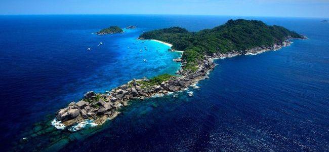 aerial viewSimilan Island #8