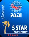 PADI 5 Star logo